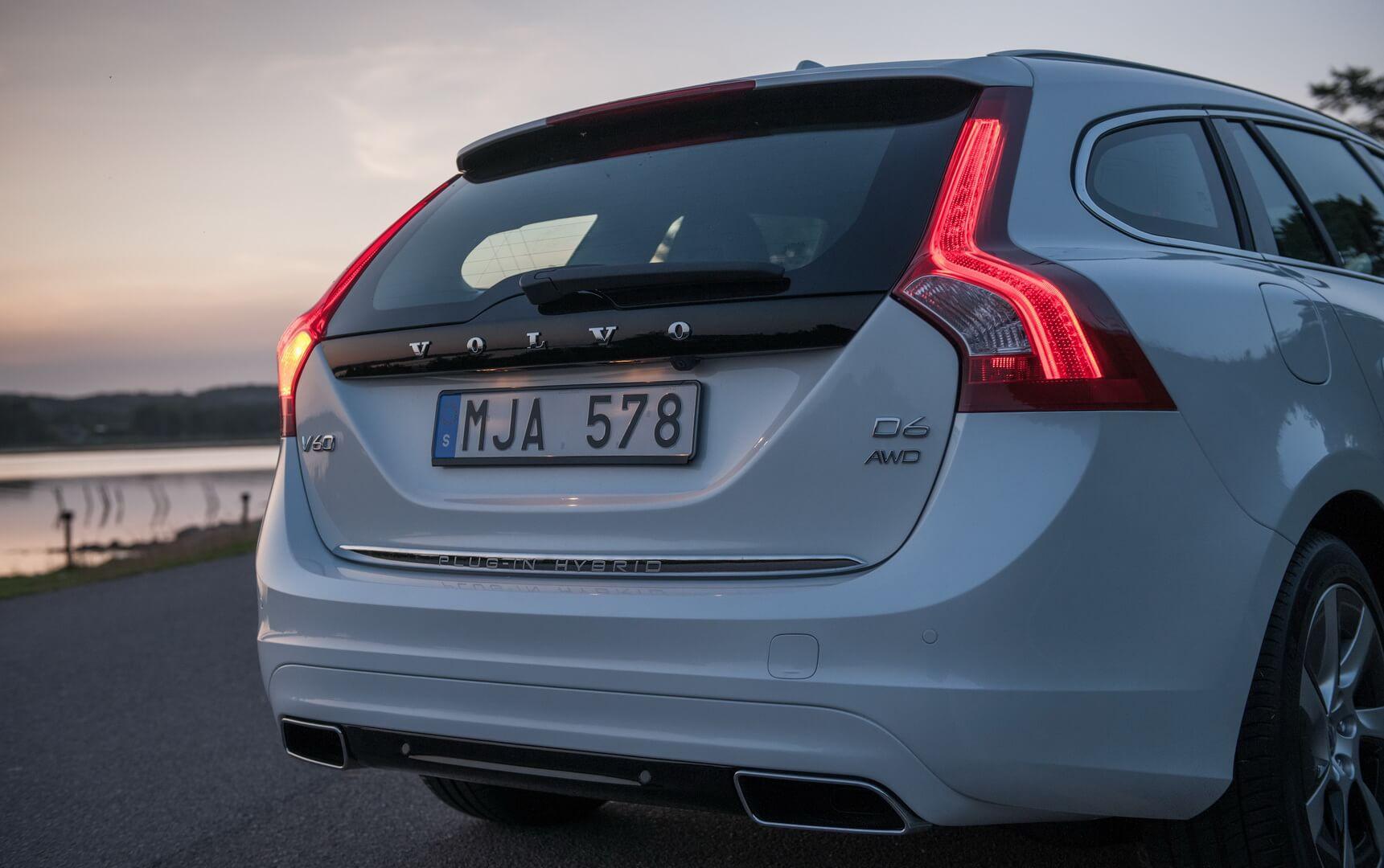 Фотография экоавто Volvo V60 PHEV - фото 33