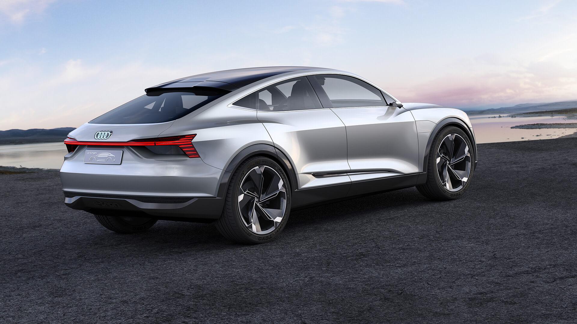 Кузов Audi e-tron Sportback