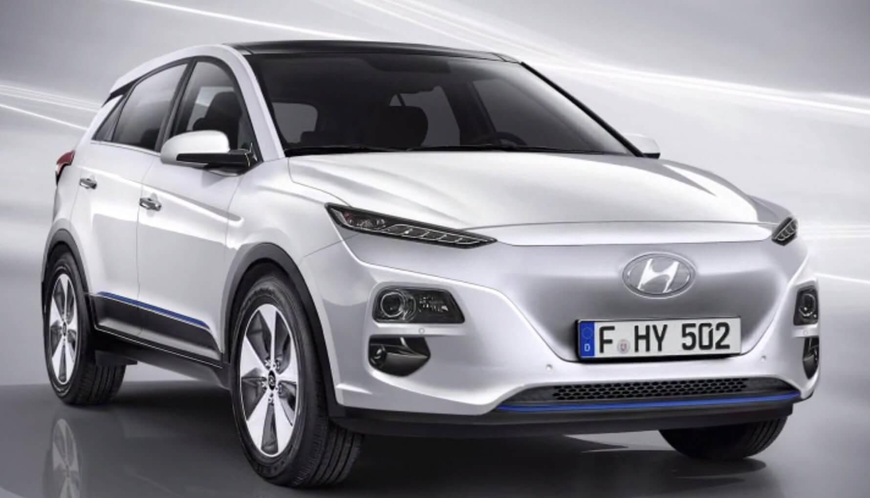 Электрический кроссовер Hyundai Kona