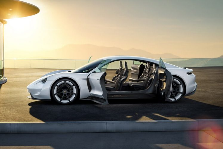 Porsche Concept Mission E — фото 2