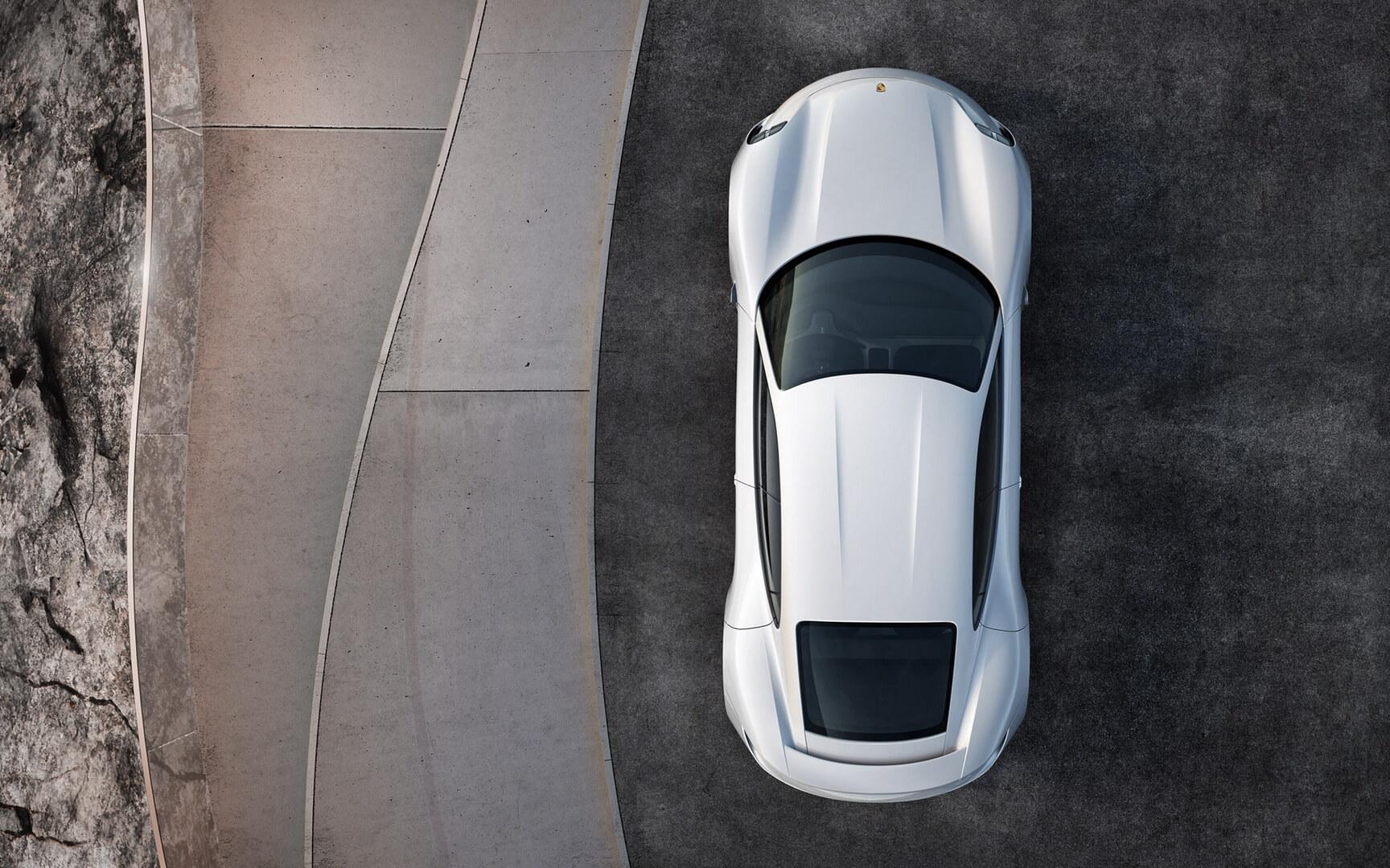 Электрокар Porsche Mission E— фото 5