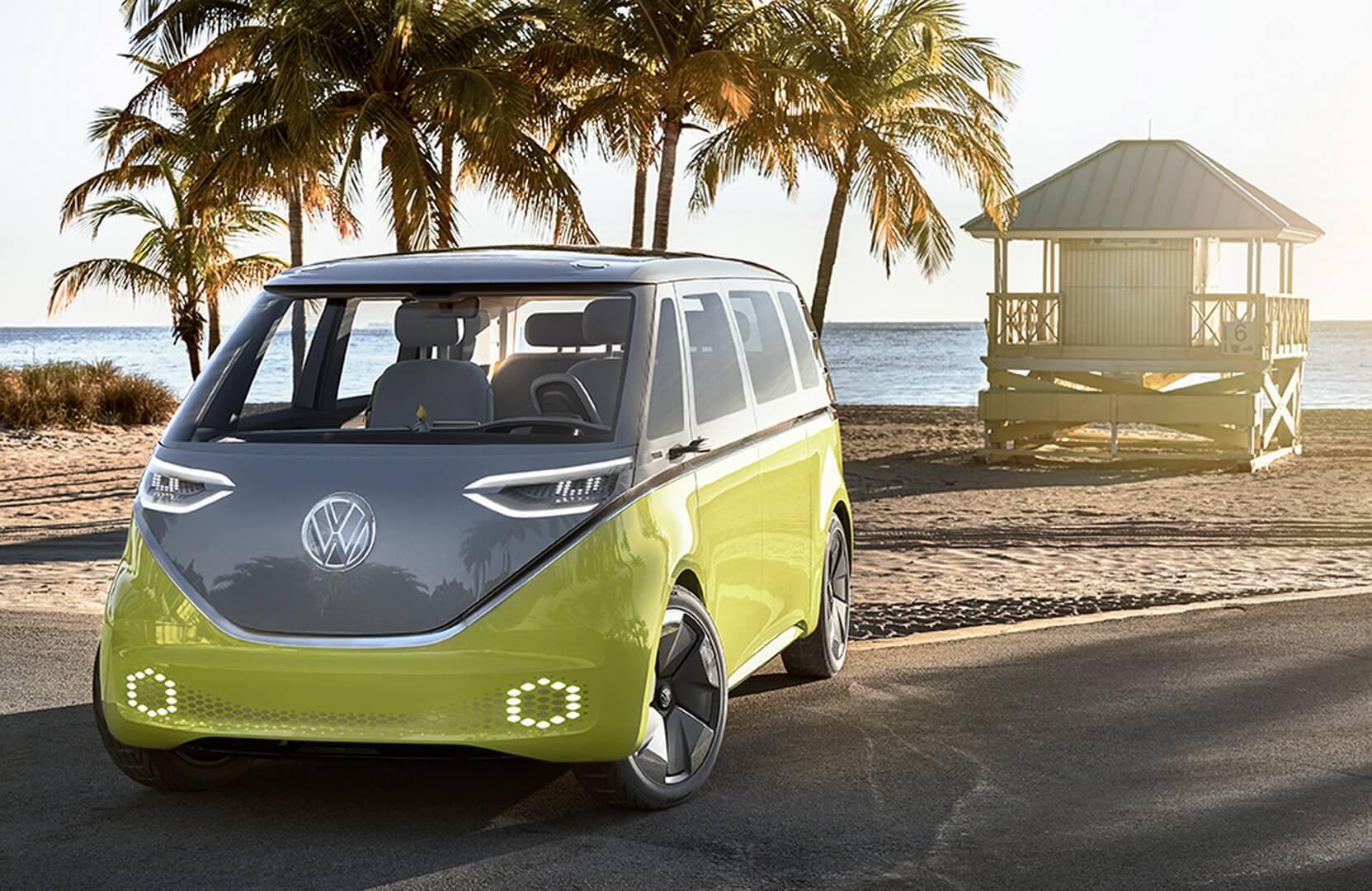 Электрический микроавтобус Volkswagen ID. BUZZ