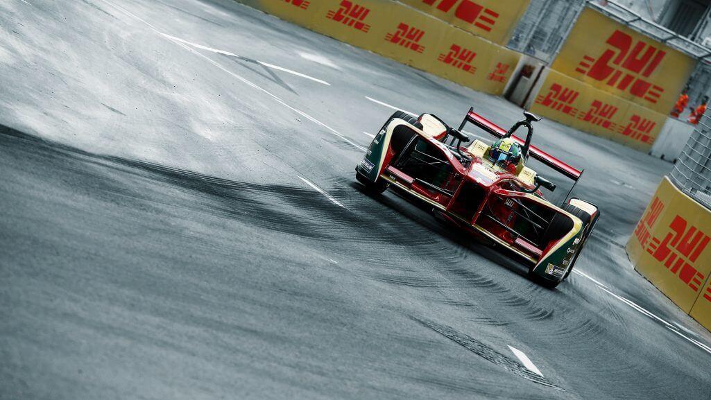 Гоночный электромобиль Audi для участия в Formula E
