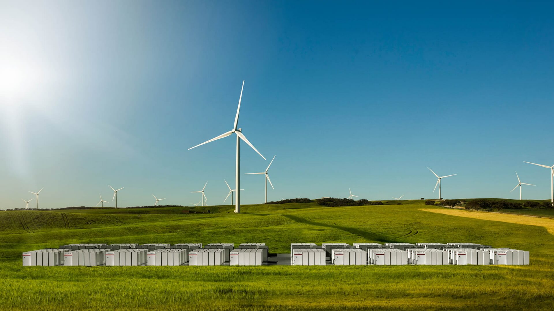 Ветряные электростанции Neoen в Южной Австралии