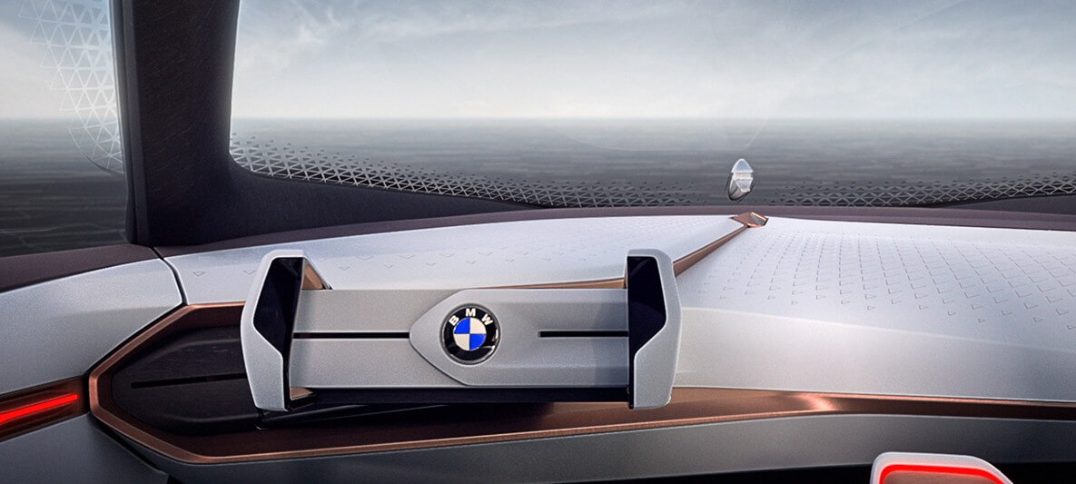 Самоуправляемый BMW Vision NEXT 100