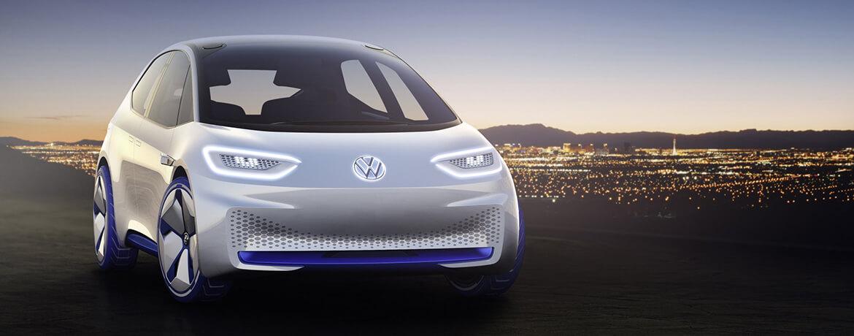Электрический концепт хэтчбека Volkswagen I.D.