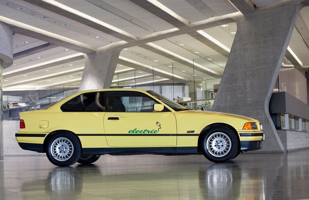 Электромобиль BMW E36