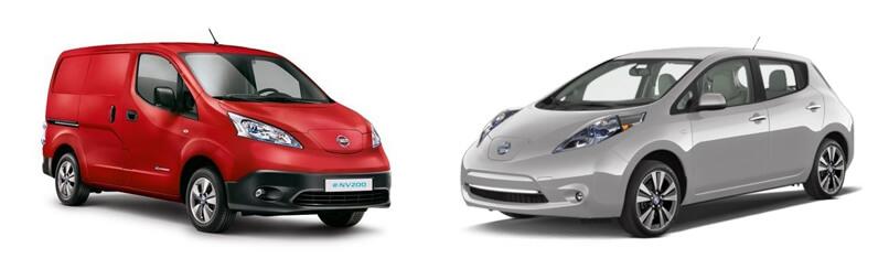 Nissan Leaf & Nissan e-NV200