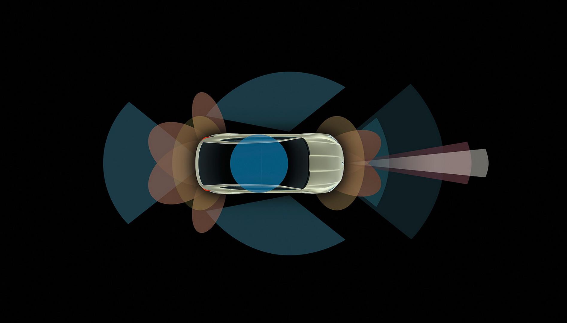 Система Park Pilot в Skoda Vision E