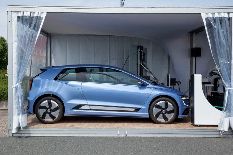 Volkswagen Gen.E на выставке в рамках VW Group Future Mobility Day