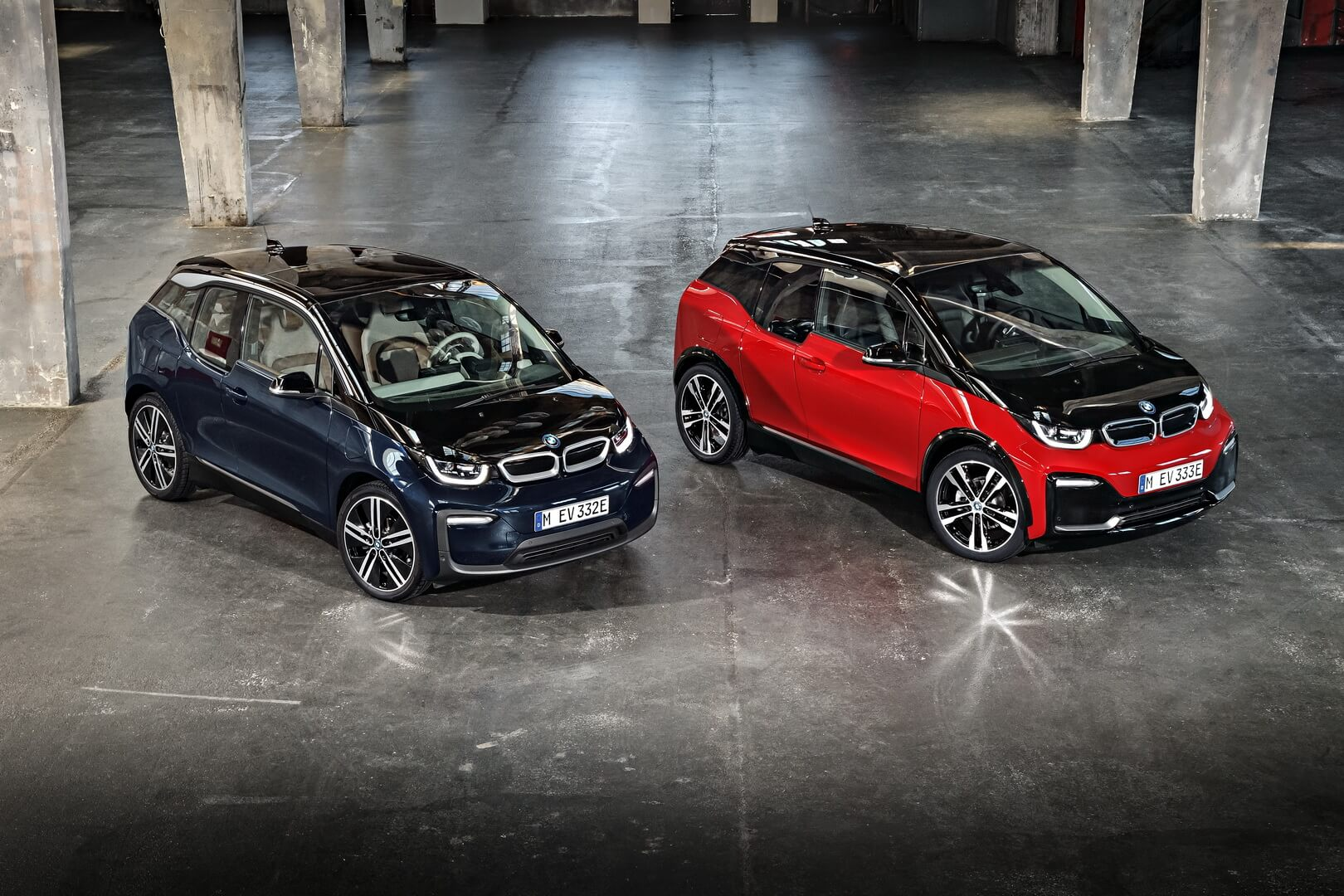Электромобили BMW i3 и BMW I3s
