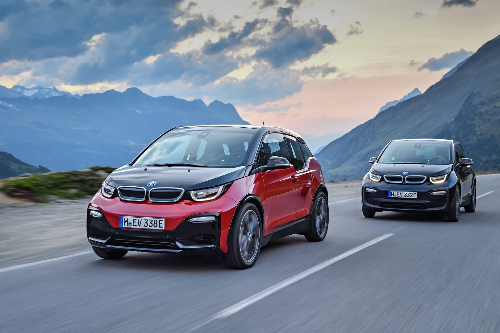 Электромобили BMW i3 и i3s