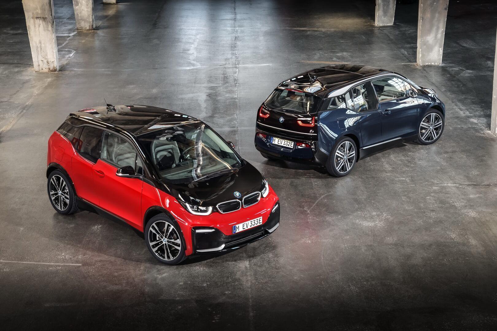 Модернизированные BMW i3 и i3s 2018