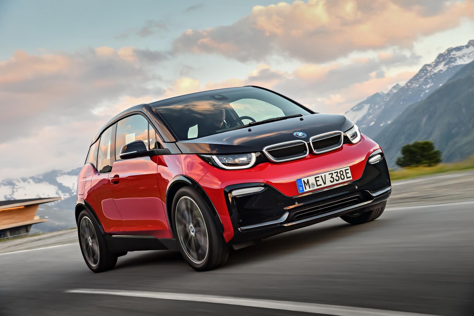 Чистый электромобиль BMW i3