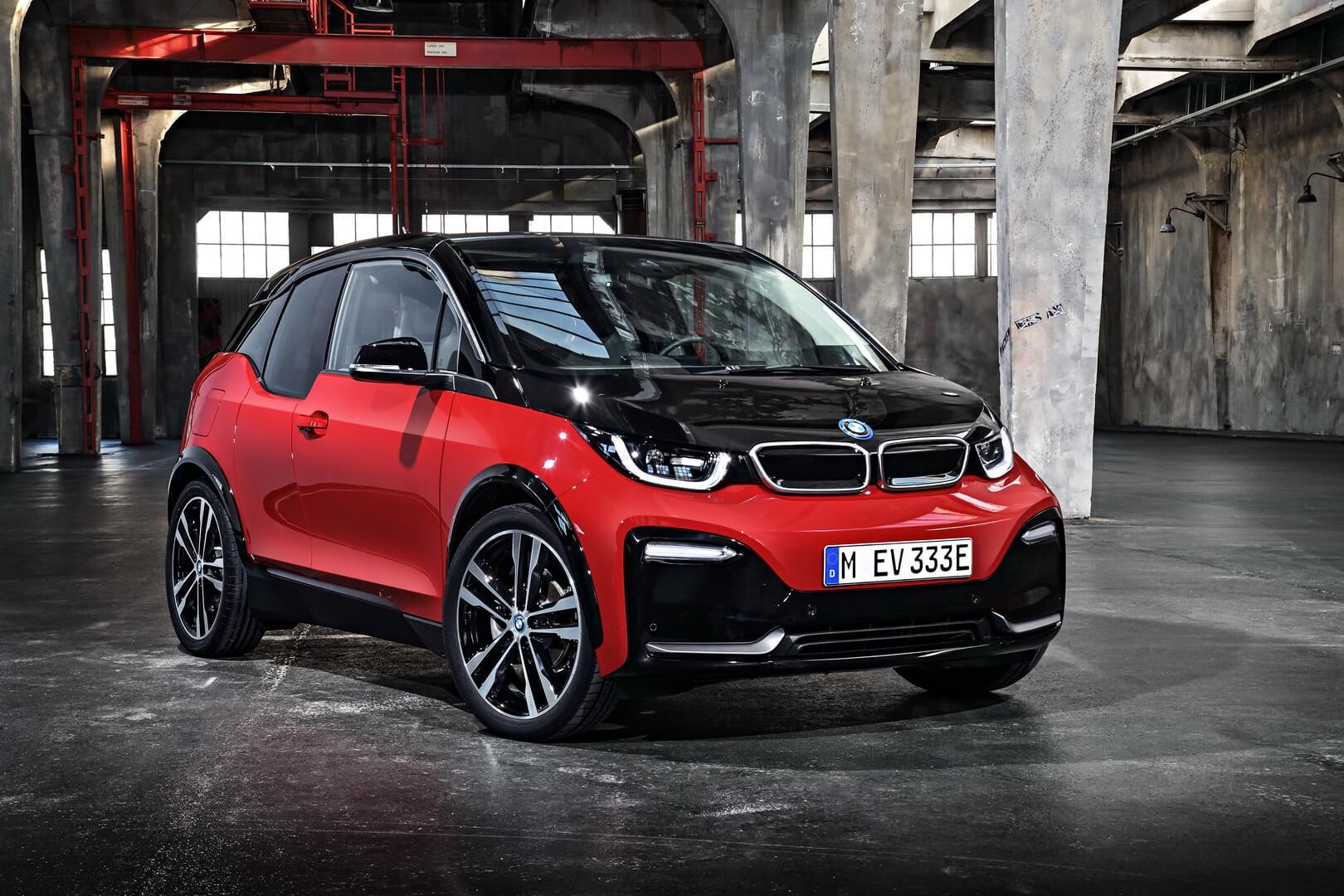 Заряженный BMW i3