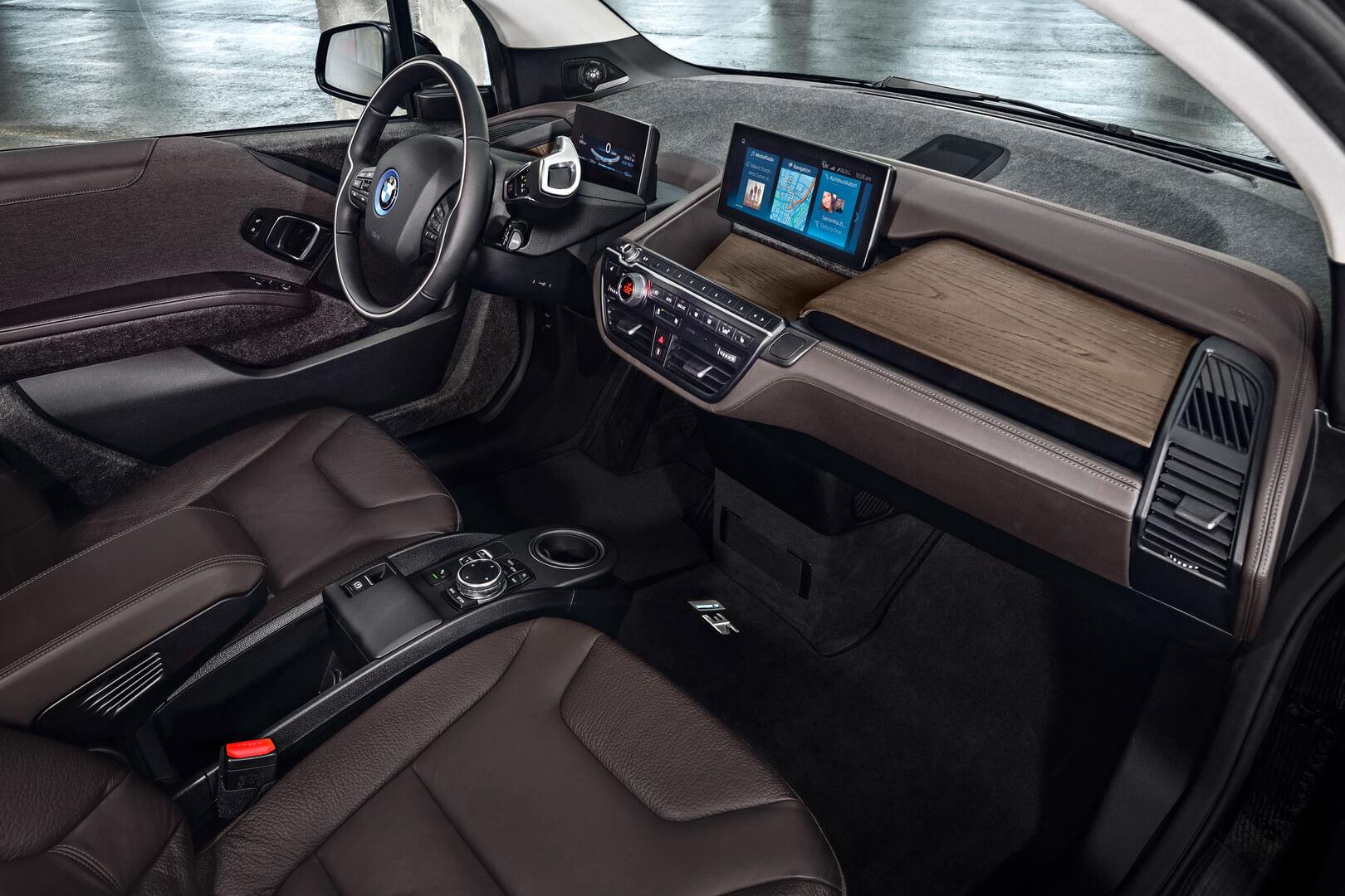 Дизайн салона BMW i3s