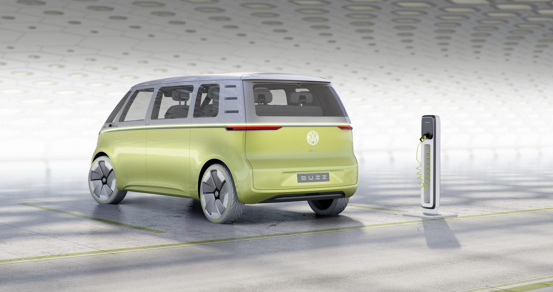Концепт Volkswagen I.D.BUZZ — фото 2