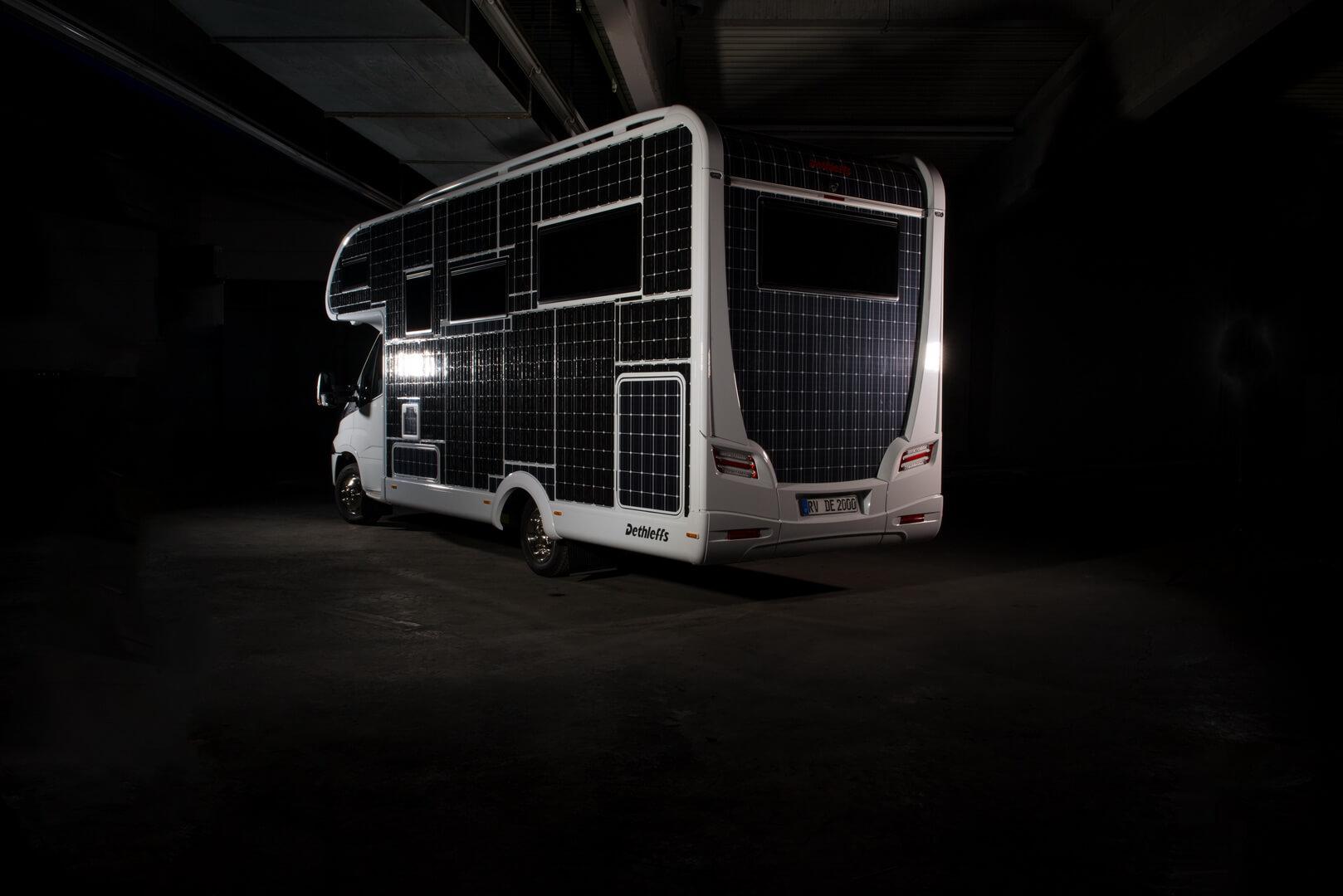 Передвижной дом e.home создан на основе шасси Iveco Daily Electric с электрическим приводом