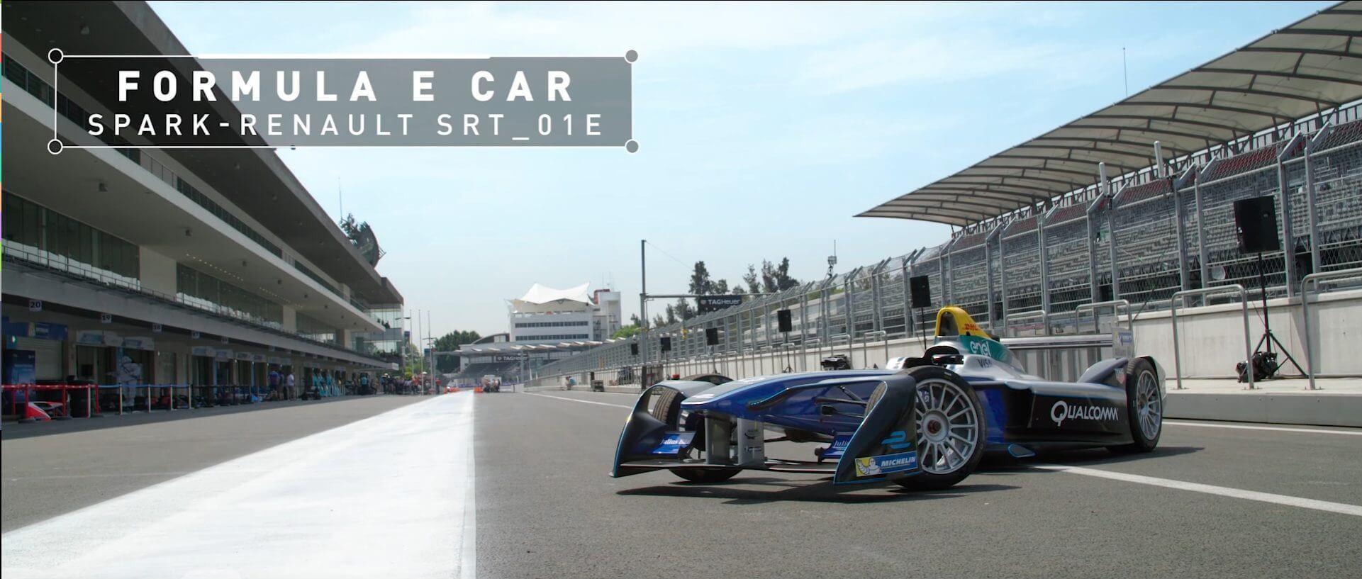 FORMULA E CAR Spark-Renault SRT_01E