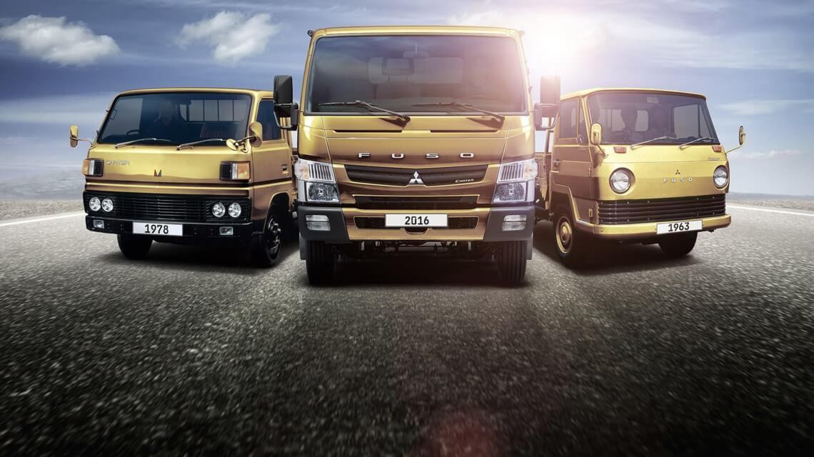Поколения грузовиков Mitsubishi Fuso Truck
