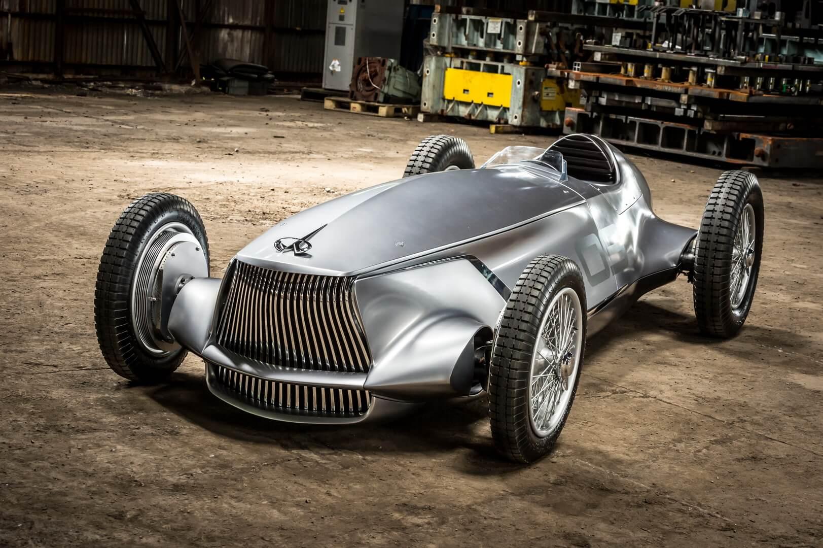 Электрический спорткар Infiniti Prototype 9