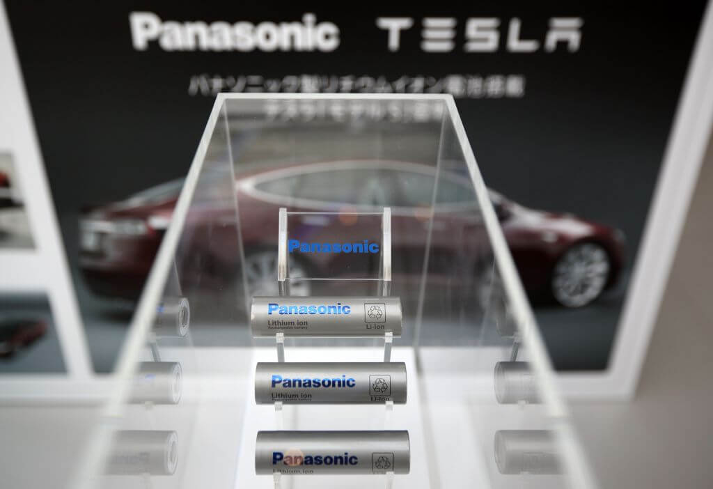 Аккумуляторные батареи для Tesla