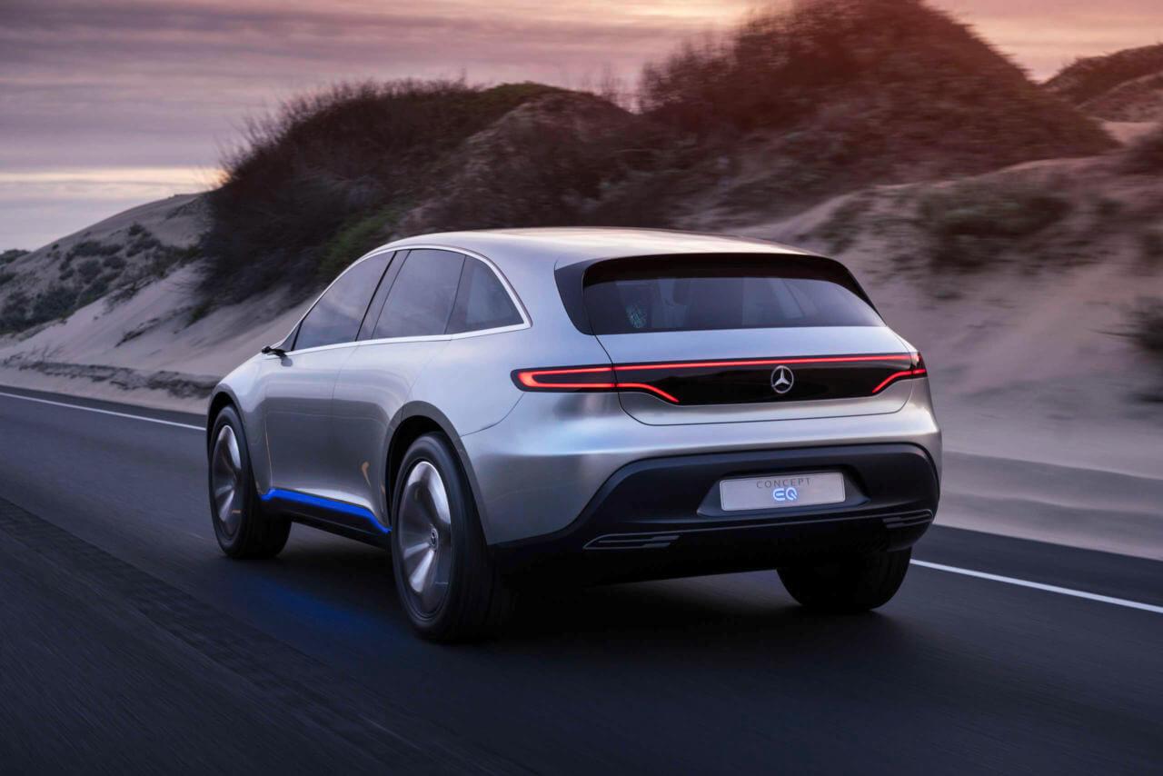 Mercedes-Benz ConceptEQ — вид сзади