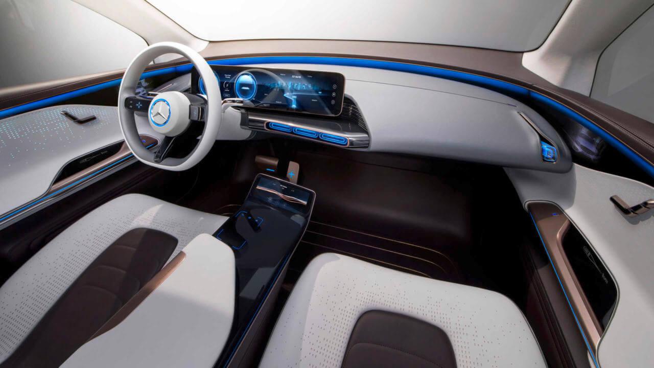 Приборная панель Mercedes-Benz ConceptEQ
