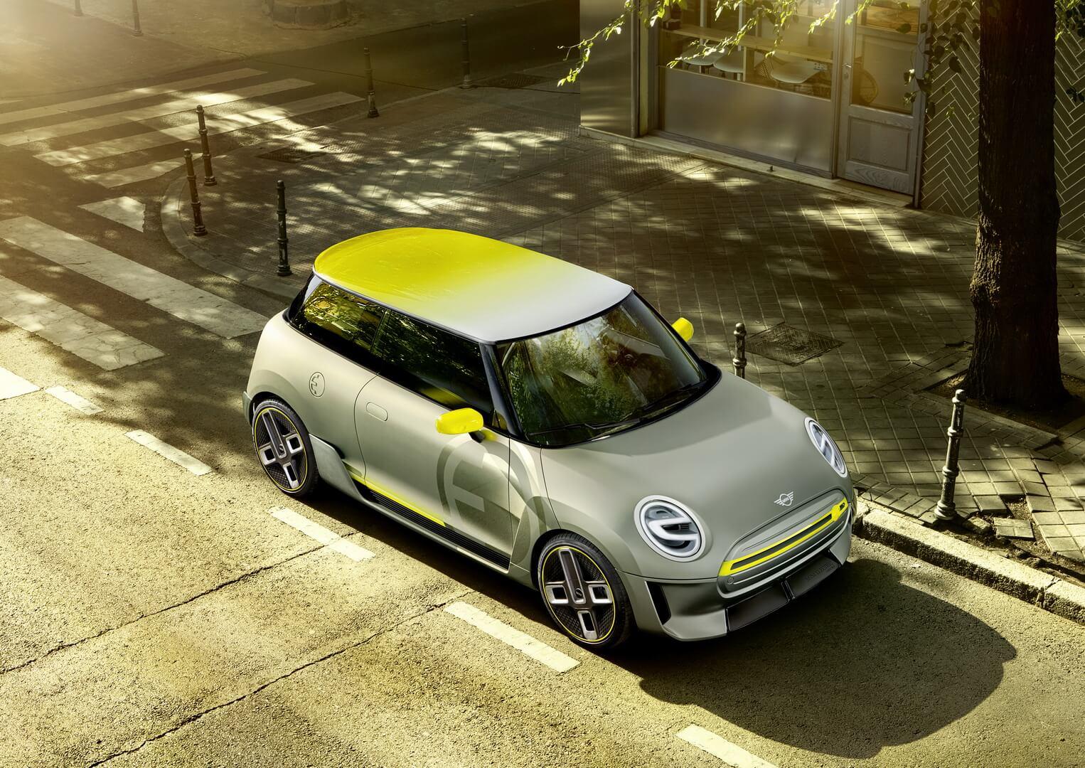 Будущий электромобиль Mini Electric 2019 года