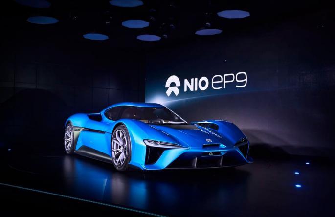 Электрический суперкар NIO EP9