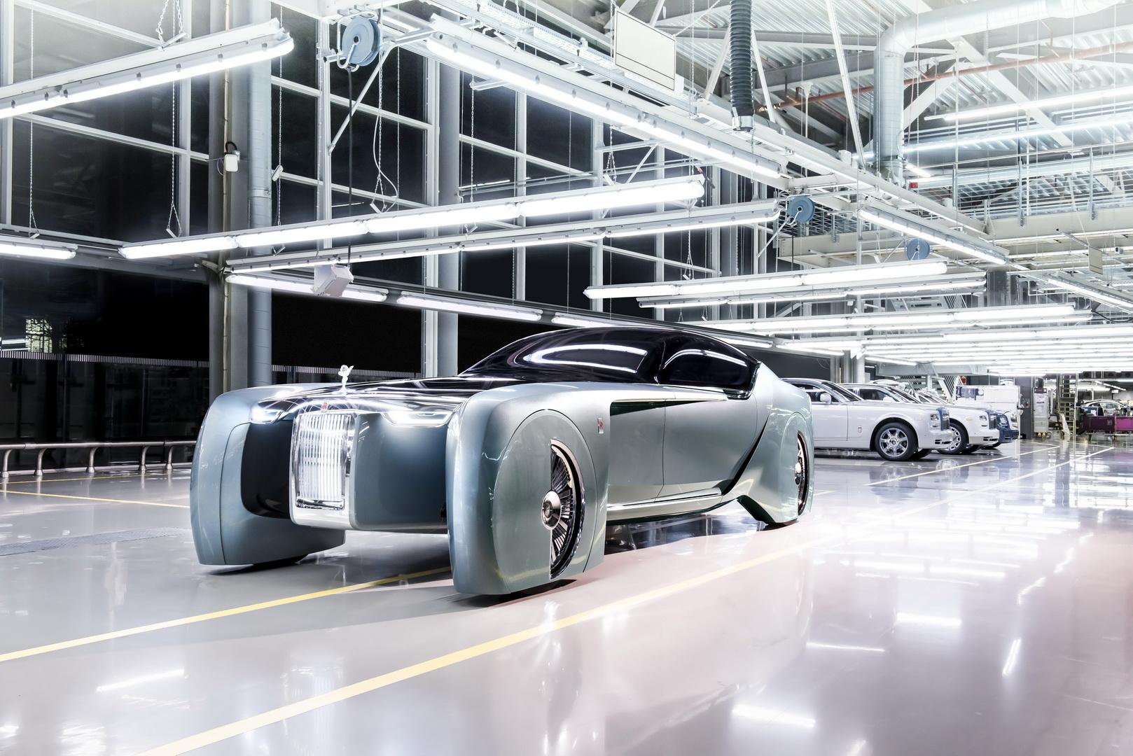 Rolls-Royce Vision Next 100