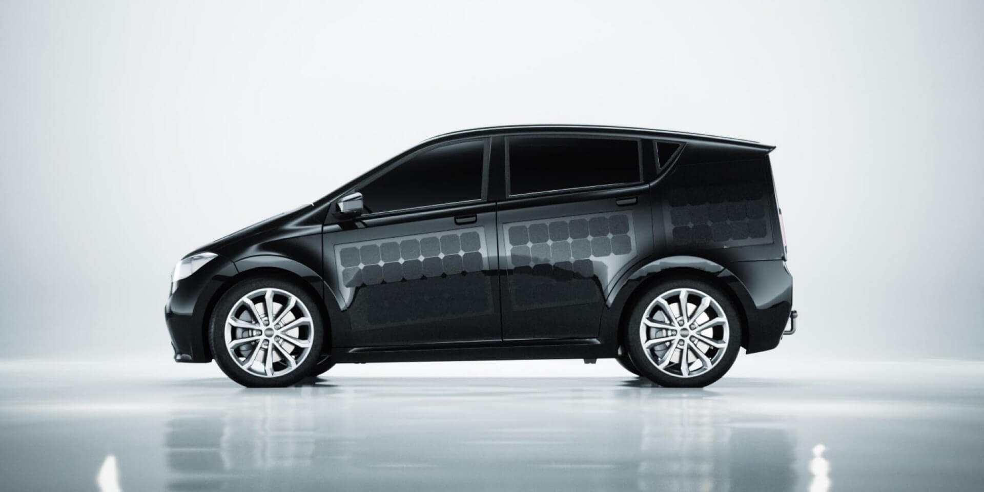 Концепт электромобиля на солнечных панелях Sion