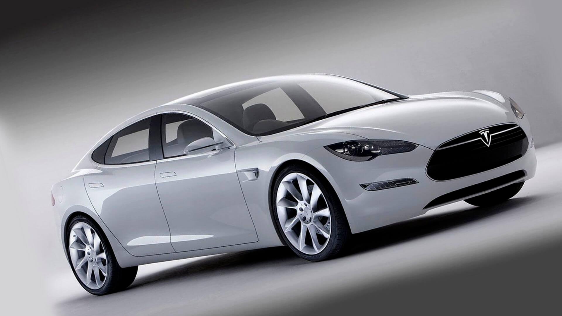 Электромобиль Tesla Model S 85