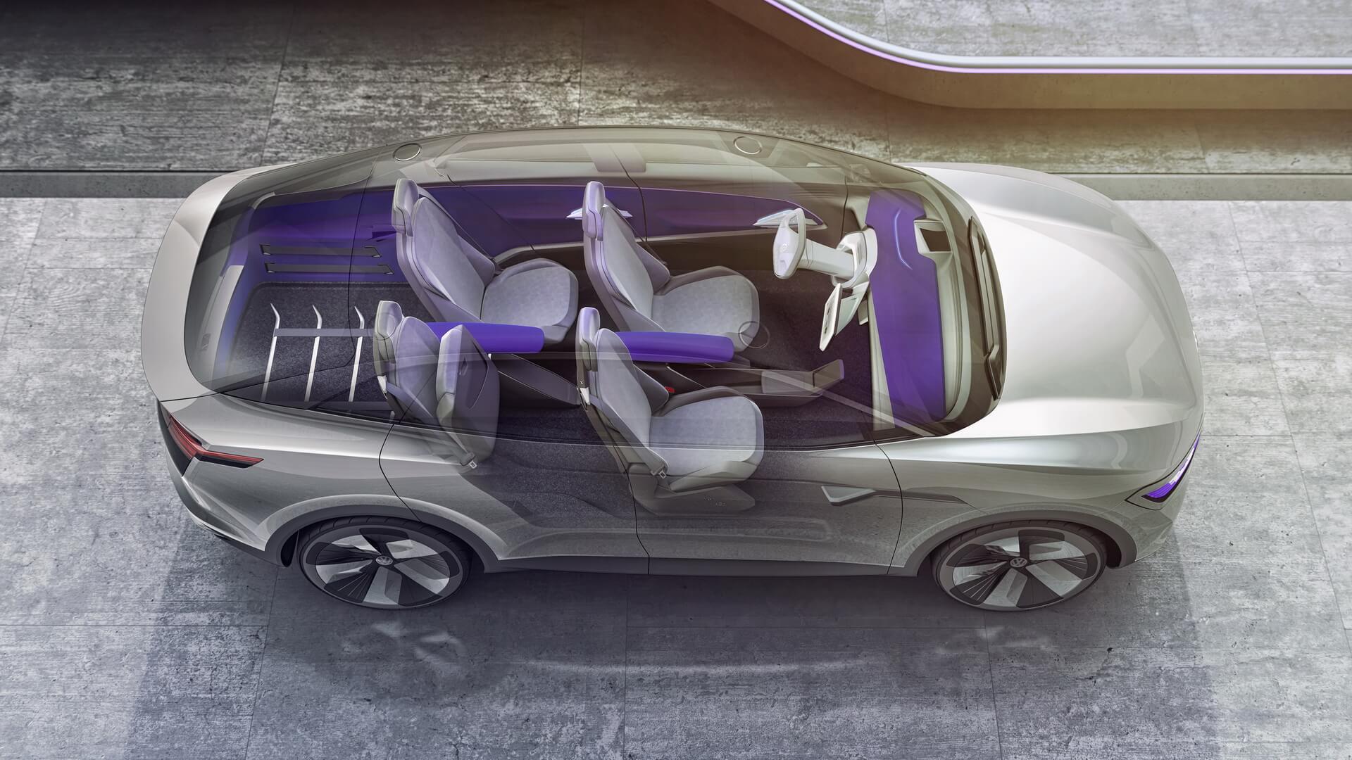 Фотография экоавто Volkswagen I.D. CROZZ - фото 11