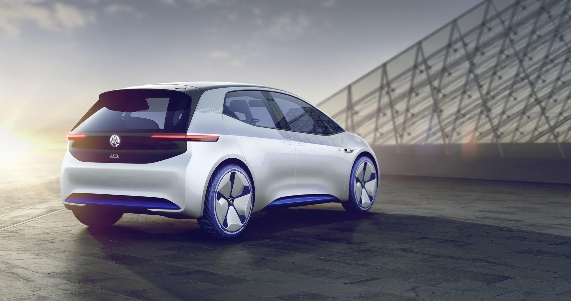 Задняя оптика Volkswagen I.D.