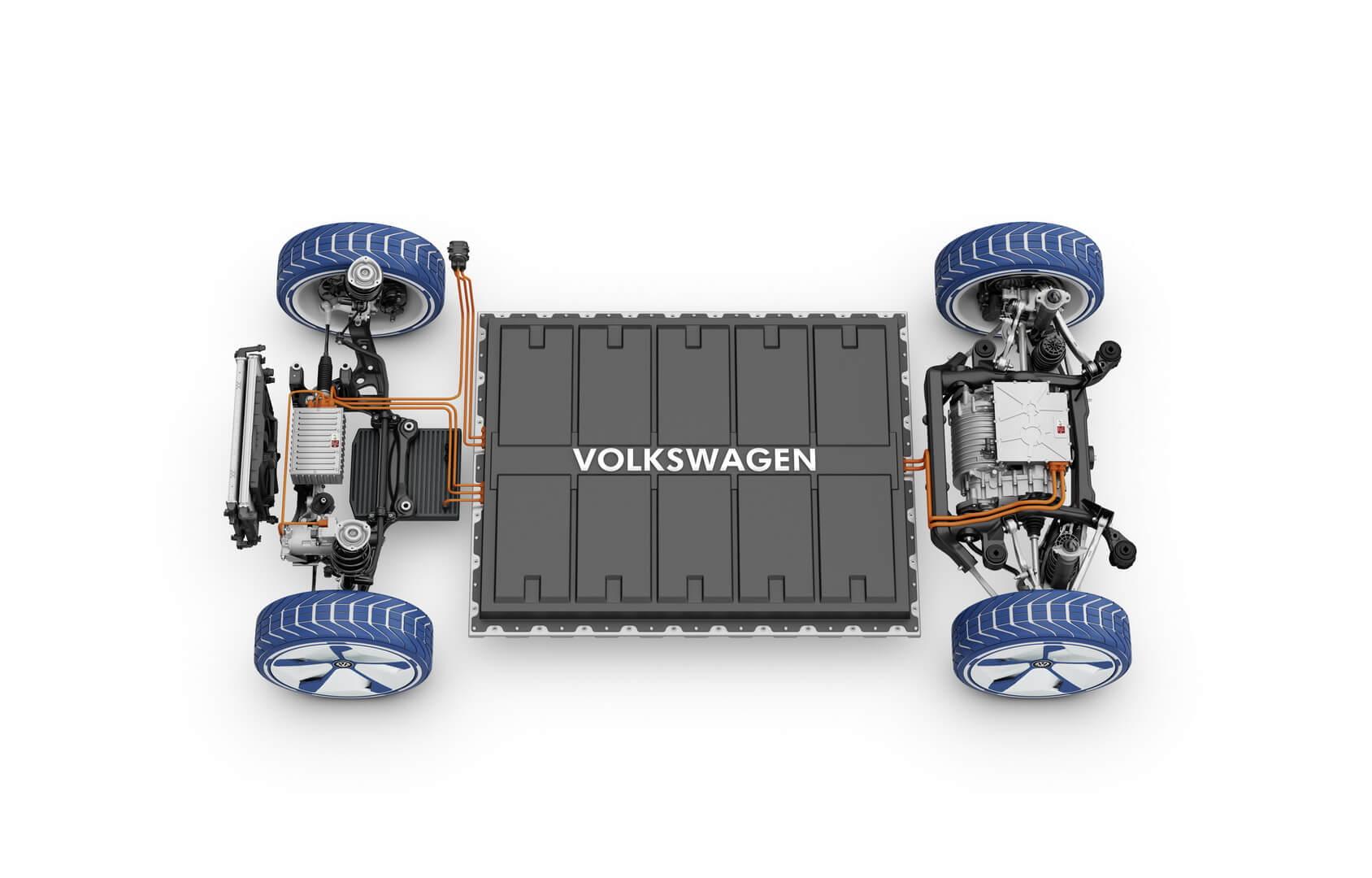 Платформа MEB для будущих электромобилей Volkswagen серии I.D.