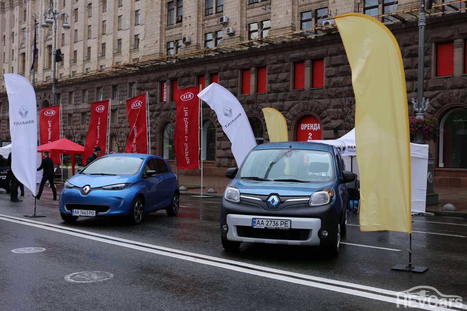 Электромобили Renault ZOE и Kangoo Z.E.