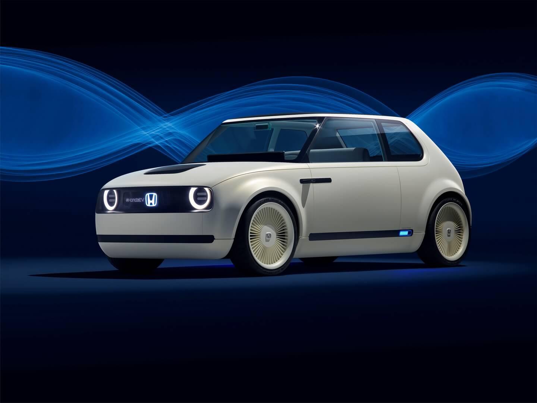 Концепт городского электромобиля Honda Urban EV