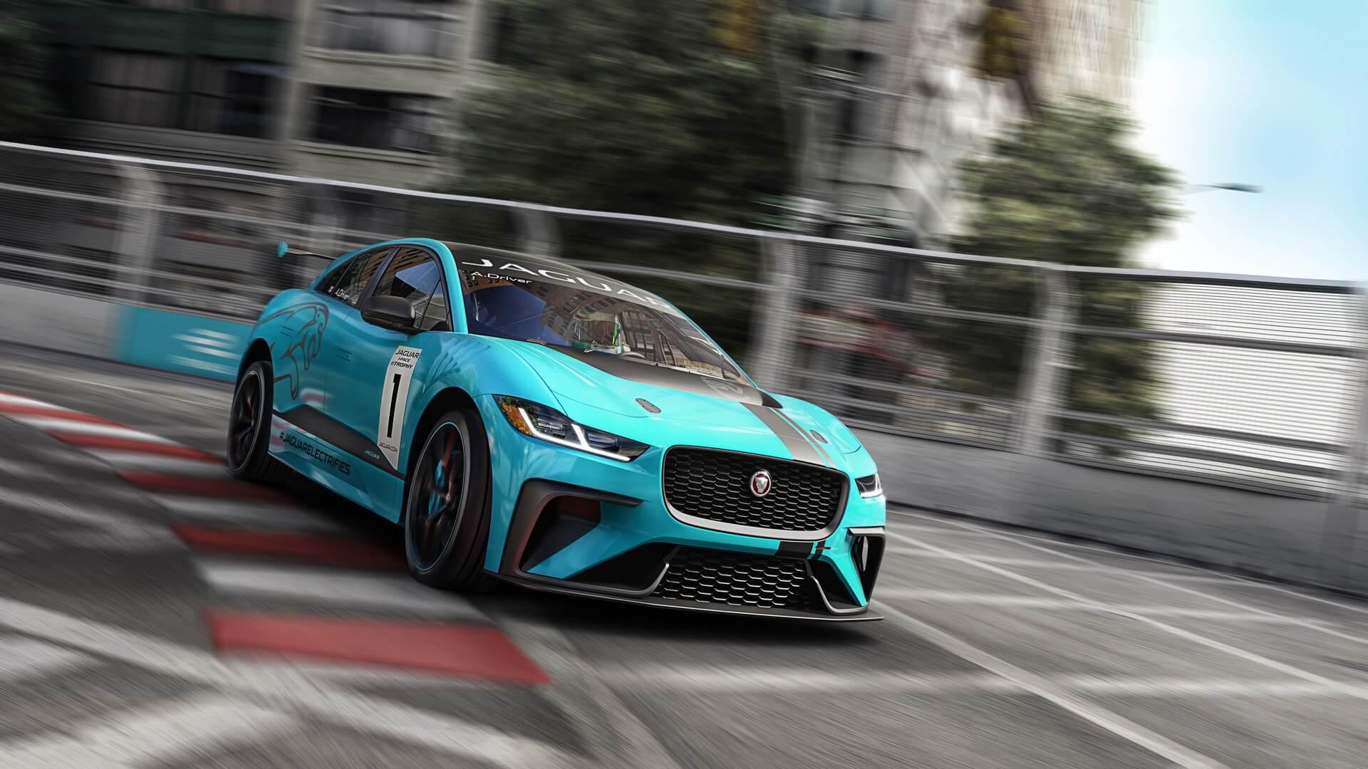 Гоночный Jaguar I-PACE — фото 3