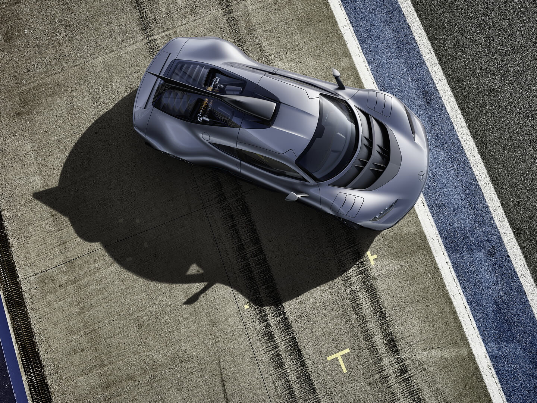 Гибридный гиперкар Mercedes-AMG Project ONE — фото 8