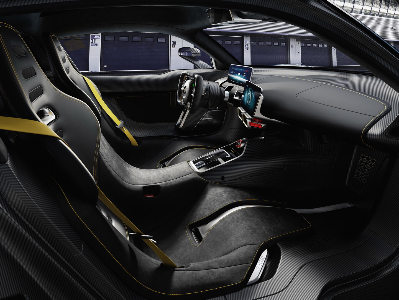 Интерьер Mercedes-AMG Project ONE — фото 2