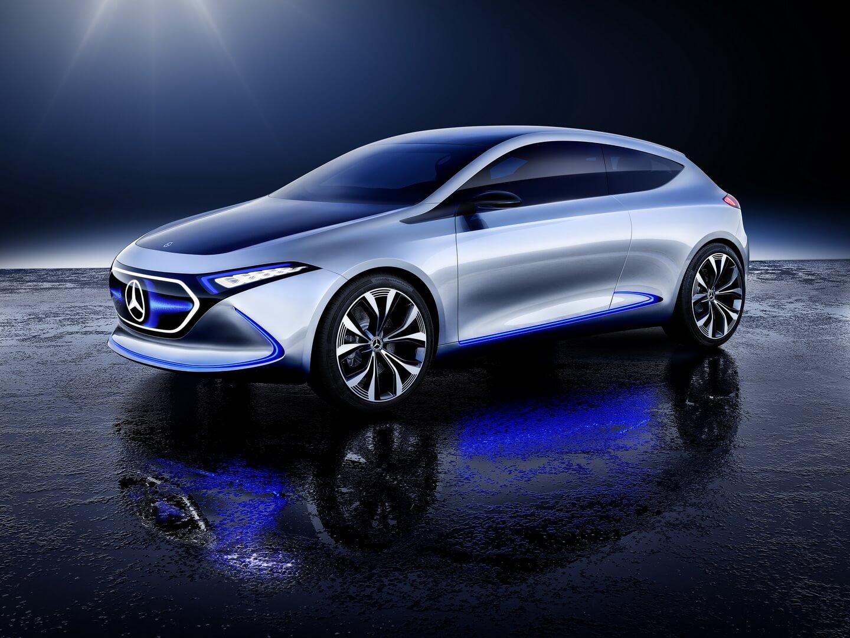 Концепт Mercedes-Benz EQA