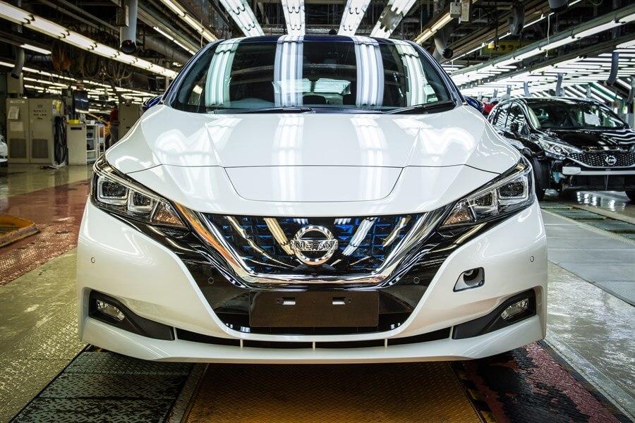 Дизайн Nissan Leaf 2018