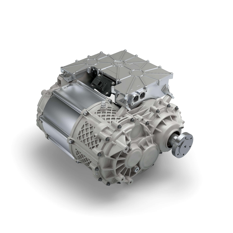 Трансмиссия USP e-axle мощностью 300 кВт•ч икрутящим моментом 6000Нм