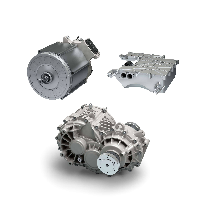 Bosch объединил три компонента трансмиссии в одну единицу