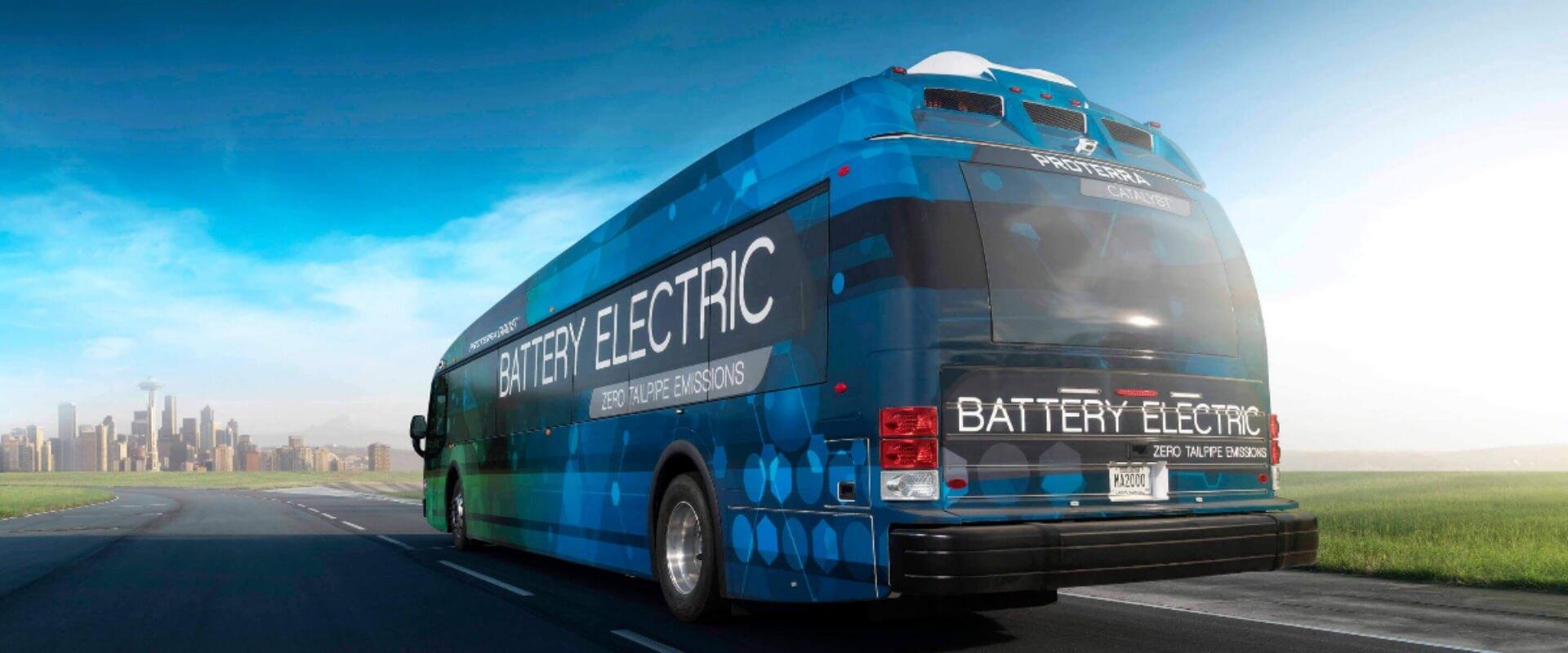 Электрический автобус Proterra Catalyst E2 Max — фото 2