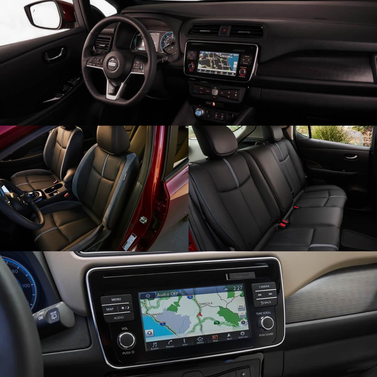 Салон Nissan Leaf2018