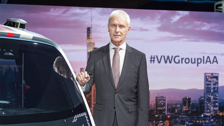 Глава Volkswagen Герберт Диес