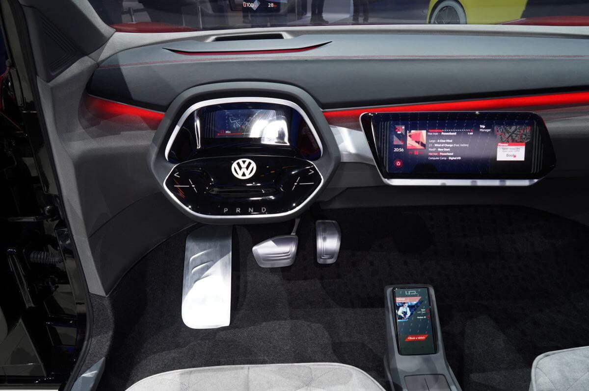Передняя панель Volkswagen I.D. CROZZ