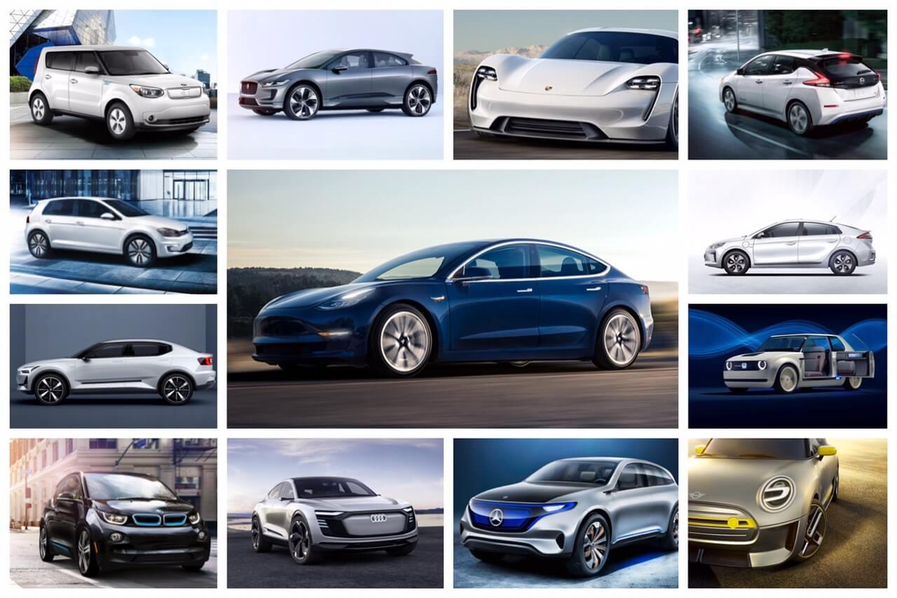 Анонсы новых электромобилей